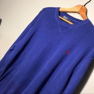 Polo Ralph Lauren Mens Sweater Large 100% Cotton